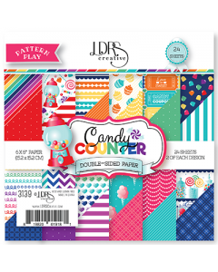 LDRS Pattern Play - Candy Counter 6x6 Paper Pack