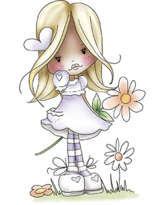 LDRS PD Holly - Delightful Daisy Rubber Stamp