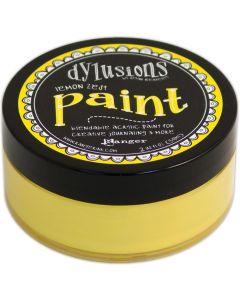 Dylusions Blendable Acrylic Paint 2oz - Lemon Zest