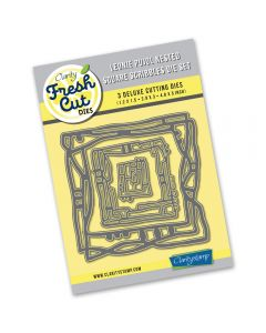 Claritystamp Leonie Pujol Scribbles Die - Nested Square