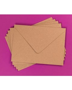 Craft UK Kraft Envelopes pack of 30 - C5