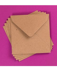 Craft UK Kraft Envelopes pack of 30 - 5x5