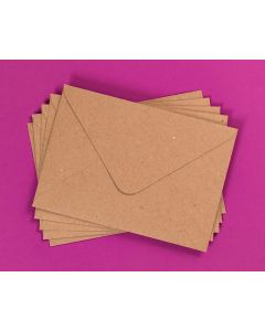 Craft UK Kraft Envelopes pack of 30 - C6