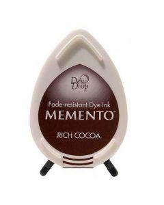 Tsukineko Memento Dew Drop Ink Pad - Rich Cocoa