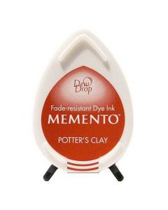Tsukineko Memento Dew Drop Ink Pad - Potter's Clay