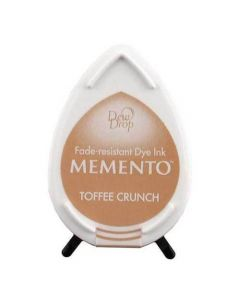 Tsukineko Memento Dew Drop Ink Pad - Toffee Crunch