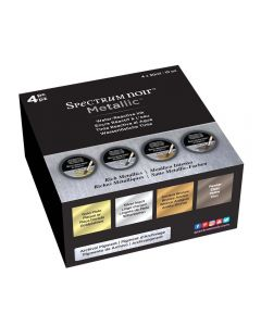 Spectrum Noir Metallic Liquid Ink 30ml (4 pack) - Rich Metallics