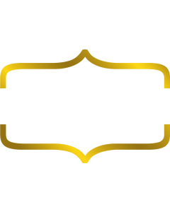 Gemini Monogram Foil Stamp Die - Bracket Frame