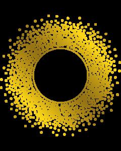 Gemini Monogram Foil Stamp Die - Confetti Explosion