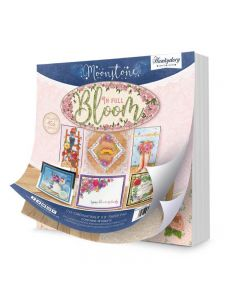 """Hunkydory 8"""" x 8"""" Co-ordinating Paper Pad - In Full Bloom"""