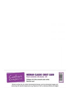Neenah Classic Crest Card Pack A4 Solar White