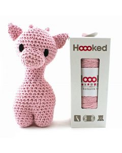 Hoooked DIY Eco Barbante Ziggy Giraffe Crochet Kit - Blossom