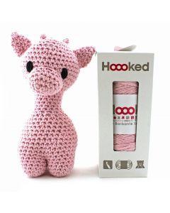 Hoooked DIY Eco Barbante Ziggy Giraffe Crochet Kit - Blossom