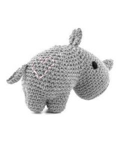 Hoooked Rhino Crochet Kit Ecobarb - Gris