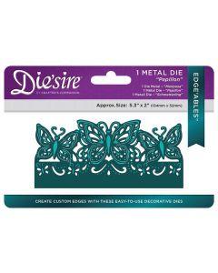Die'sire Edge'ables Metal Die - Papillon