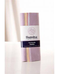 Threaders Felt Bundle - Pastels