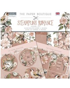 Creative Expressions The Paper Boutique Steampunk Romance - Paper Kit