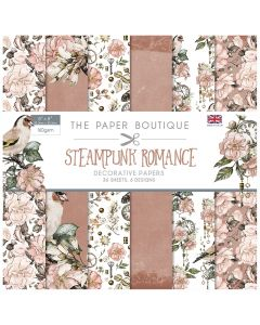 Creative Expressions The Paper Boutique Steampunk Romance - 8x8 Paper Pad