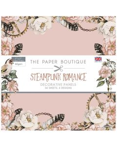 Creative Expressions The Paper Boutique Steampunk Romance - 7x7 Panel Pad