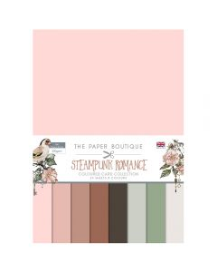Creative Expressions The Paper Boutique Steampunk Romance - Colour Card Collection