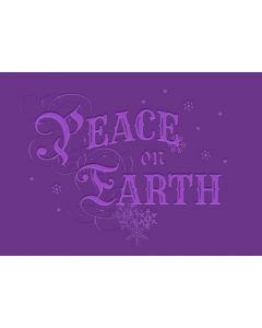 """Gemini 5"""" x 7"""" 3D Embossing Folder - Peace on Earth"""