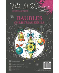 Pink Ink Designs Clear Stamp - Baubles