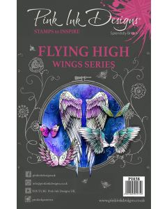 Pink Ink Designs Clear Stamp - Flying High