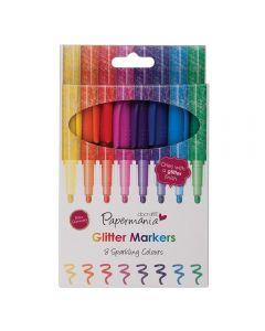 West Design Glitter Markers 8 Pack