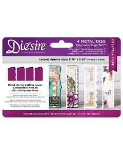 Die'sire Create-a-Card Kinetic Metal Die Die - Decorative Edges Set 1 (Original)
