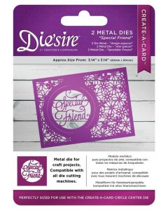 Die'sire Kinetic Inlay Metal Die - Special Friend (Original)
