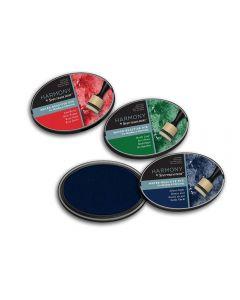 Harmony by Spectrum Noir Water Reactive 3PC Dye Inkpads - Christmas Classics