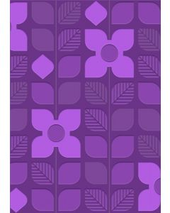 Gemini A6 3D Embossing Folder - Retro Garden