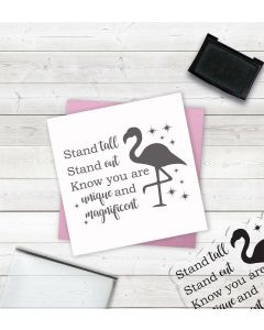 Crafter's Companion Clear Acrylic Stamps - Stand Tall