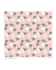 Riley Blake Blush Fabric - RBSC8011 PINK