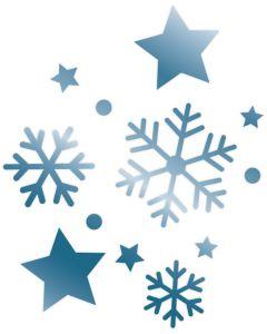 Sara Signature Enchanted Christmas Foil Stamp Die - Night Sky