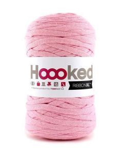 Hoooked RibbonXL Yarn - Sweet Pink