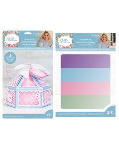 Sara Signature Sew Homemade Gift Box and Pearl Card Pack Bundle