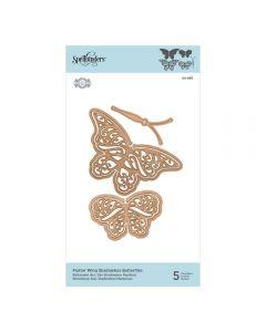 Spellbinders Die - Flutter Wing Shadowbox Butterflies
