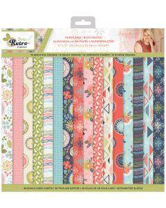 """Sara Signature Sew Retro - 12x12"""" Paper Pad"""
