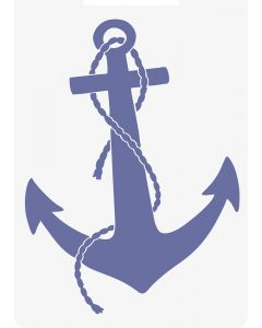 Sara Signature Nautical 2D Embossing Folder - Ship's Anchor