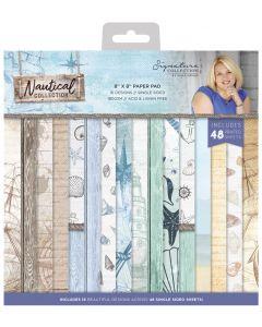 Sara Signature Nautical 8 x 8 Paper Pad
