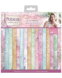 Sara Signature Parisian - 8 x 8 Paper Pad
