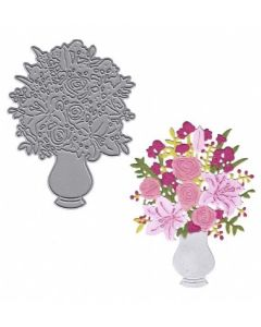 Joanna Sheen Signature Dies - Spring Flower Bouquet