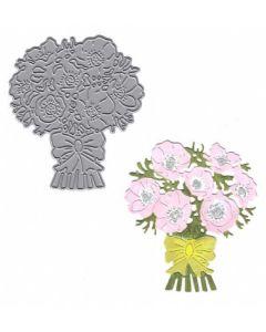 Joanna Sheen Signature Dies - Anemone Bouquet