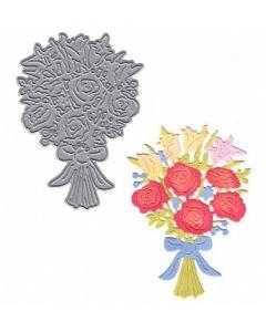 Joanna Sheen Signature Dies - Rose Bouquet