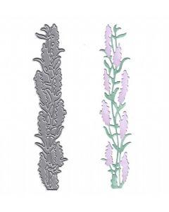 Joanna Sheen Signature Dies - Lavender Border