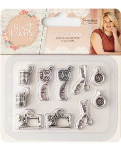 Sara Signature Sew Lovely Metal Charms