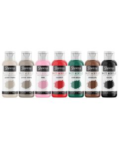 Sheena Douglass Matt Acrylic Paint (59ml) 7PC Box - Set 2