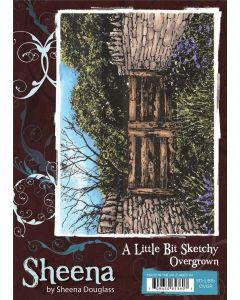 Sheena Douglass A Little Bit Sketchy A6 Stamp Set - Overgrown