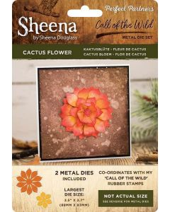 Sheena Douglass Perfect Partners Call of the Wild Metal Die - Cactus Flower